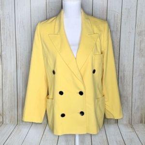 Vintage Escada Margaretha Ley Cashmere Wool Blazer